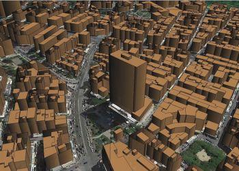 3D Data Model: Πύργος Αθηνών