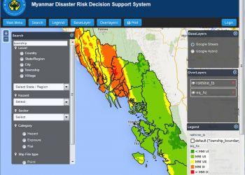 Μιανμάρ: Χωρικό Σύστημα Yποστήριξης Aποφάσεων για την αντιμετώπιση καταστροφών